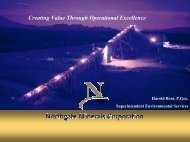 Creating Value Through Operational Excellence - Minerals North ...