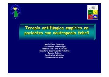 Terapia antifúngica empírica en pacientes con neutropenia febril