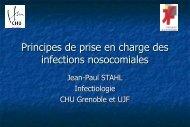 Principes de prise en charge des infections ... - Infectiologie