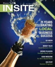 May 2009 - The Insite Group