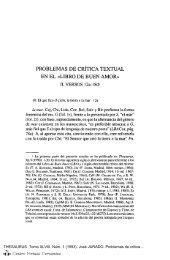 Problemas de crítica textual en el - Centro Virtual Cervantes