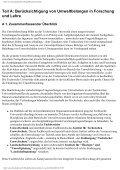 """""""Berücksichtigung von Umweltbelangen an der TU Berlin"""" - Page 3"""