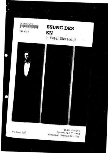 Latour, Bruno (2009): Ein vorsichtiger Prometheus? - Schwerpunkt ...