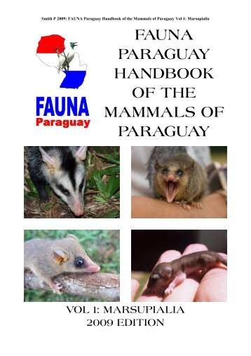 hbk mammals vol 1 - FAUNA Paraguay