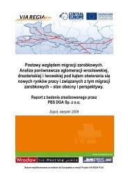 Postawy względem migracji zarobkowych. Analiza ... - Via Regia Plus