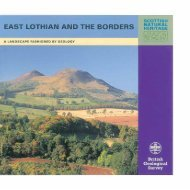 East Lothian and the Borders - Scottish Natural Heritage