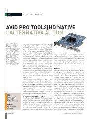 Scheda PDF - Suoni e strumenti
