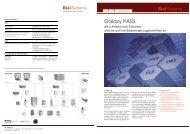 Datenblatt Software Galaxy - Bixi Systems AG