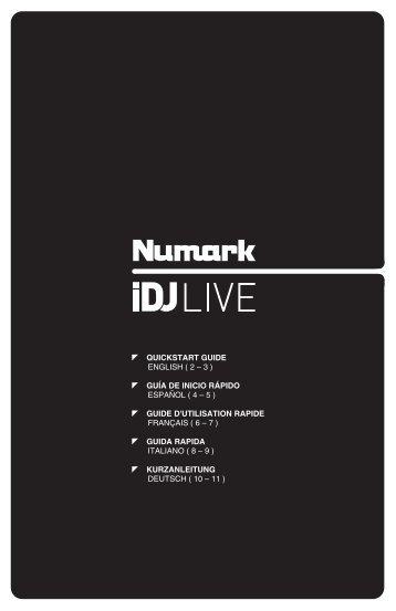 iDJ Live - Quickstart Guide - v1.0 - Numark