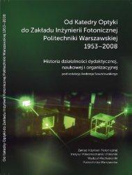 Browse publication - Politechnika Warszawska
