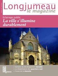 La ville s'illumine durablement - Ville de Longjumeau