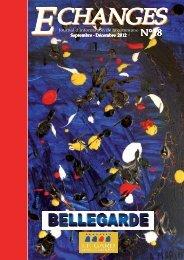 Echanges N°18 septembre - décembre 2012 - Bellegarde