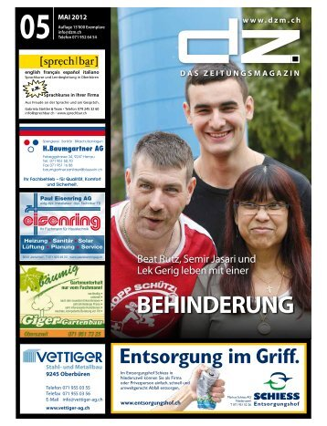 BEHINDERUNG - Dorfzytig