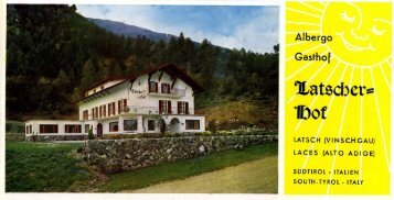 Page 1 Page 2 GASTHOF iLatscber=1Dof Neuerbautes Haus ...