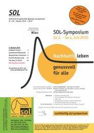 Symposiumsankündigung 2010 - SOL - Menschen für Solidarität ...