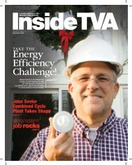 InsideTVA - Tennessee Valley Authority