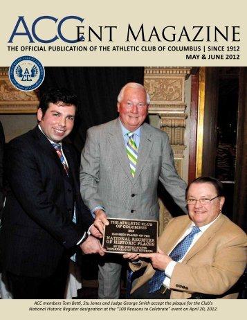 ACCent Magazine ACCent Magazine - The Athletic Club Of Columbus