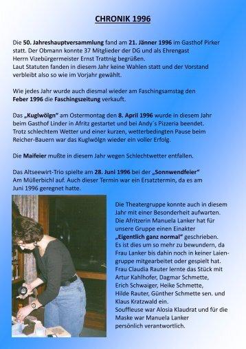 Chronik 1996