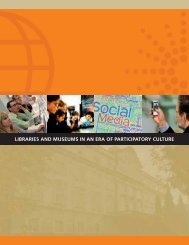 Libraries and Museums in an Era of Participatory - Institute of ...