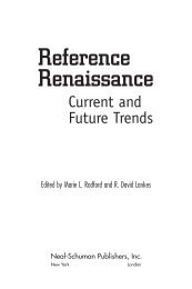 Reference Renaissance - ALA Store - American Library Association