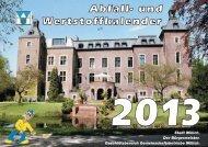 Abfallkalender 2013 - Stadt Willich