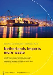 Netherlands imports more waste - Dutch Waste Management Association