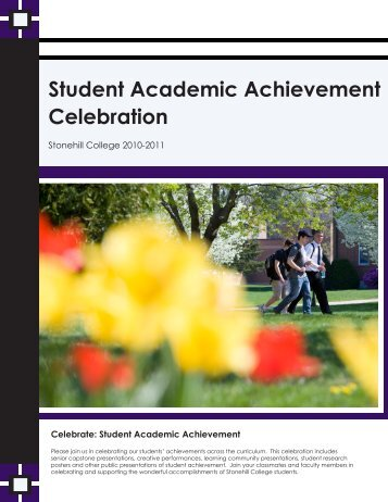 Student Academic Achievement Celebration - Stonehill College