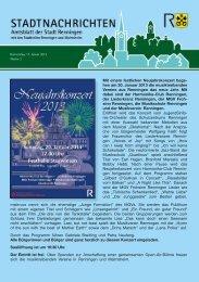 Ausgabe Nr. 3 - Stadt Renningen