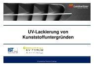 UV-Lacke für Kunststoff, IST, deutsch [Kompatibilitätsmodus ...