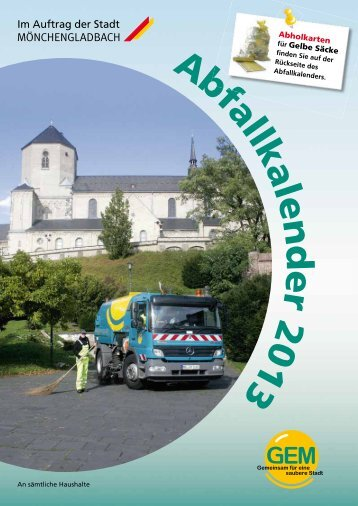 Abfallkalender 2013 als PDF downloaden - GEM