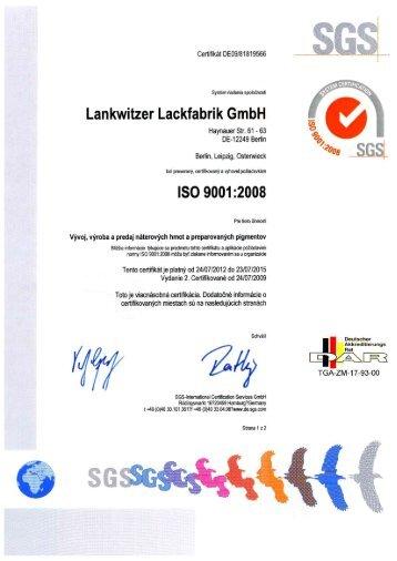 itzer Lackfabrik GmbH Lankw - Lankwitzer-Lackfabrik