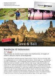 Java & Bali - Team Benns