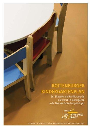 ROTTENBURGER KINDERGARTENPLAN - LVKITA
