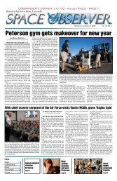 Peterson gym gets makeover for new year - Colorado Springs ...