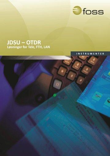 JDSU – OTDR - FOSS AS