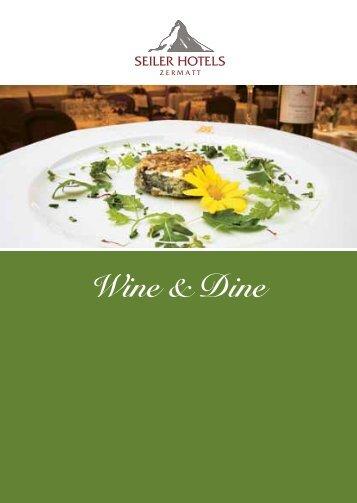 Wine & Dine - Hotel Schweizerhof