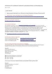 Landschaftsarchitektur und Umweltplanung - Fakultät für Architektur ...