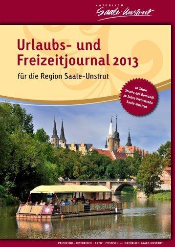 Urlaubs- und Freizeitjournal 2013 - Saale-Unstrut-Tourismus e.V.