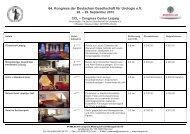 64. Kongress der Deutschen Gesellschaft für ... - DGU-Kongress