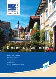 Dießen am Ammersee - Tourist-Info-Diessen am Ammersee
