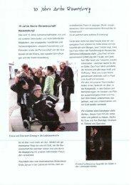 10 Jahre Arche Gemeinschaft Ravensburg! - Lebenswerk Zukunft