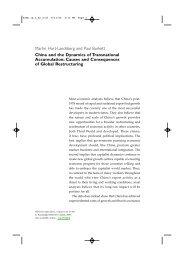 Martin Hart-Landsberg and Paul Burkett China and - Department of ...