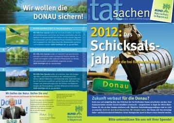 Wir wollen die DONAU sichern! - Bund Naturschutz in Bayern eV