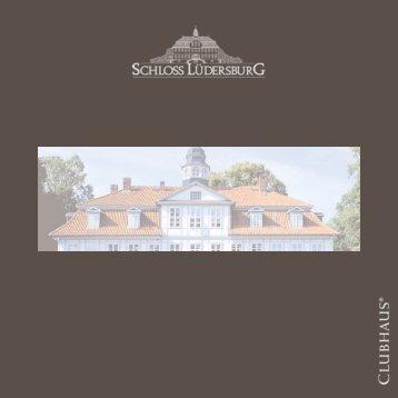 Hausprospekt herunterladen - Golfanlage Schloss Lüdersburg