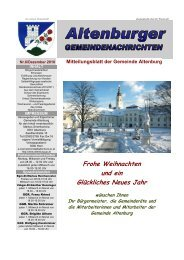 Gemeindenachrichten 06/2010 (1,44 MB) - Altenburg