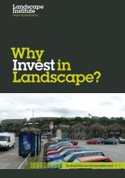 Why invest in landscape? - Landscape Institute