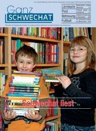 0409 April Ausgabe - Stadtgemeinde Schwechat