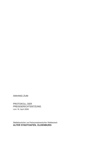 alter stadthafen, oldenburg - D&K drost consult