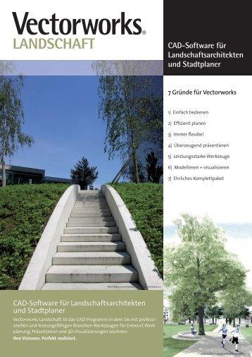 CAD-Software für Landschaftsarchitekten und Stadtplaner