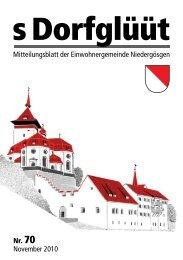 Dorfglüüt - Gemeinde Niedergösgen